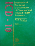 INTERNATIONAL STATISTICAL CLASSIFICATION OF DISEASES AND RELATED HEALTH PROBLEMS  Vol 3