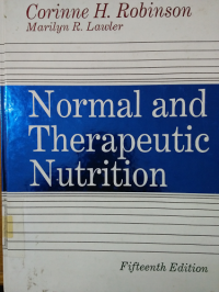 Image of NORMAL AND THERAPEUTIC NUTRITION Edisi 15